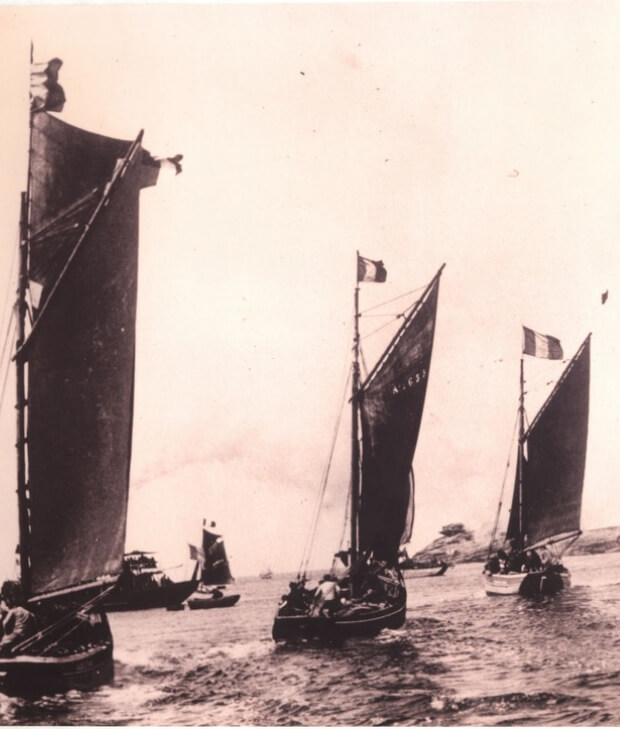Flotille Langoustiers Corbeau des mers