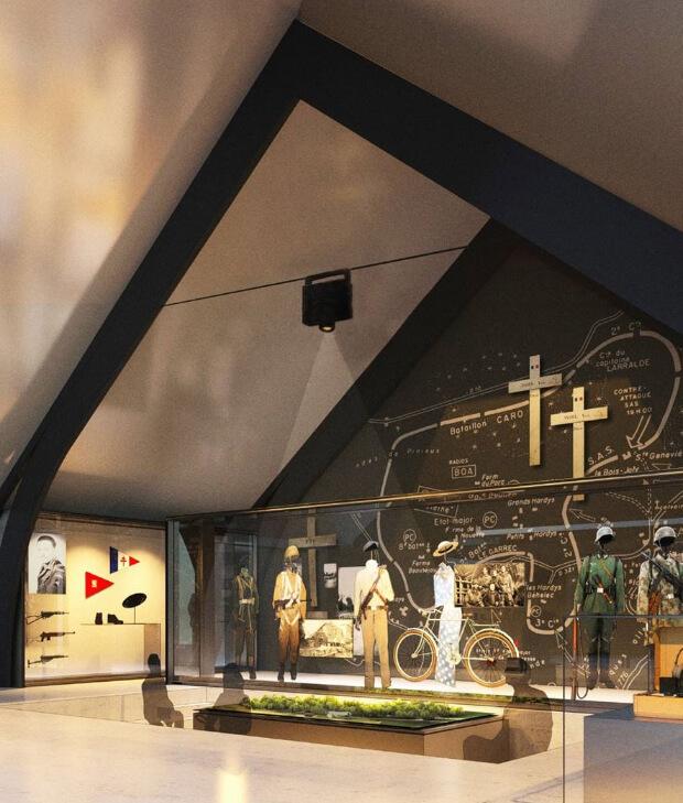 Musée de la résistance en bretagne - vue 3