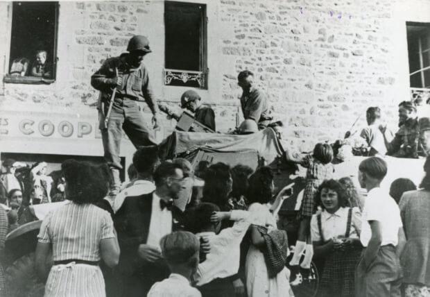 Libération bretagne - musée de la résistance